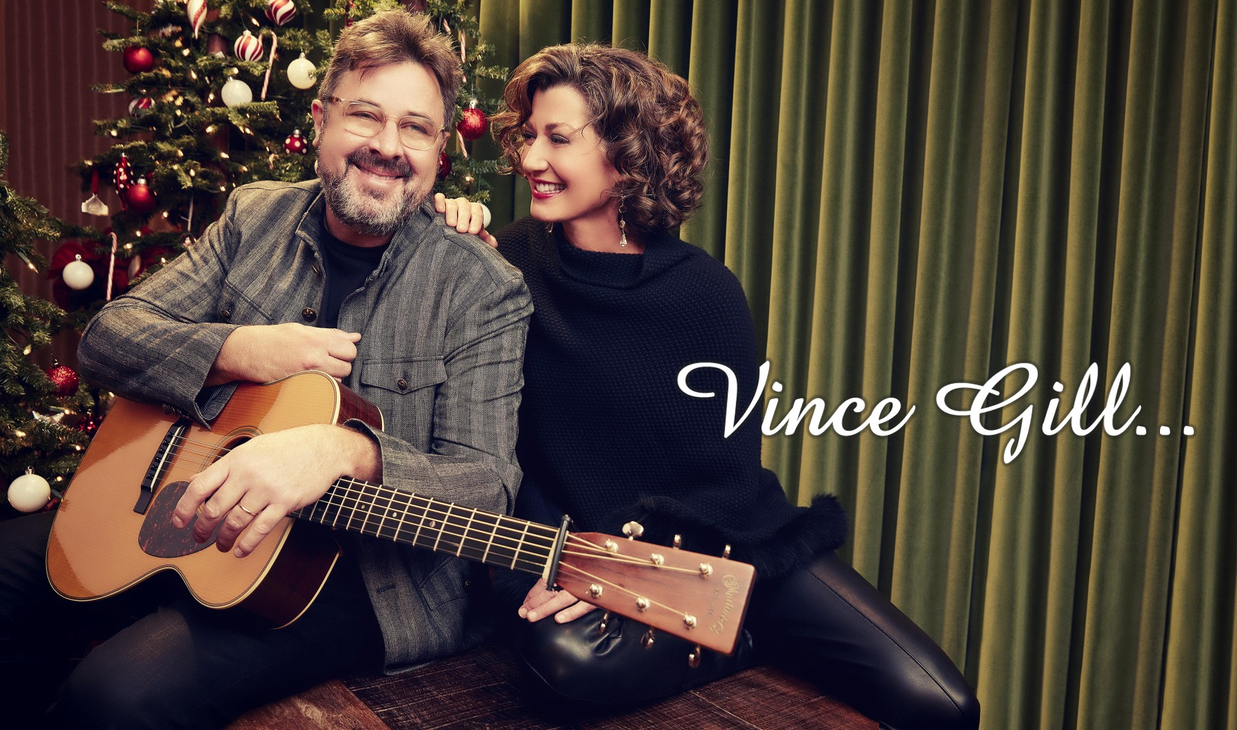 Strictly Country Vince Gill Christmas title