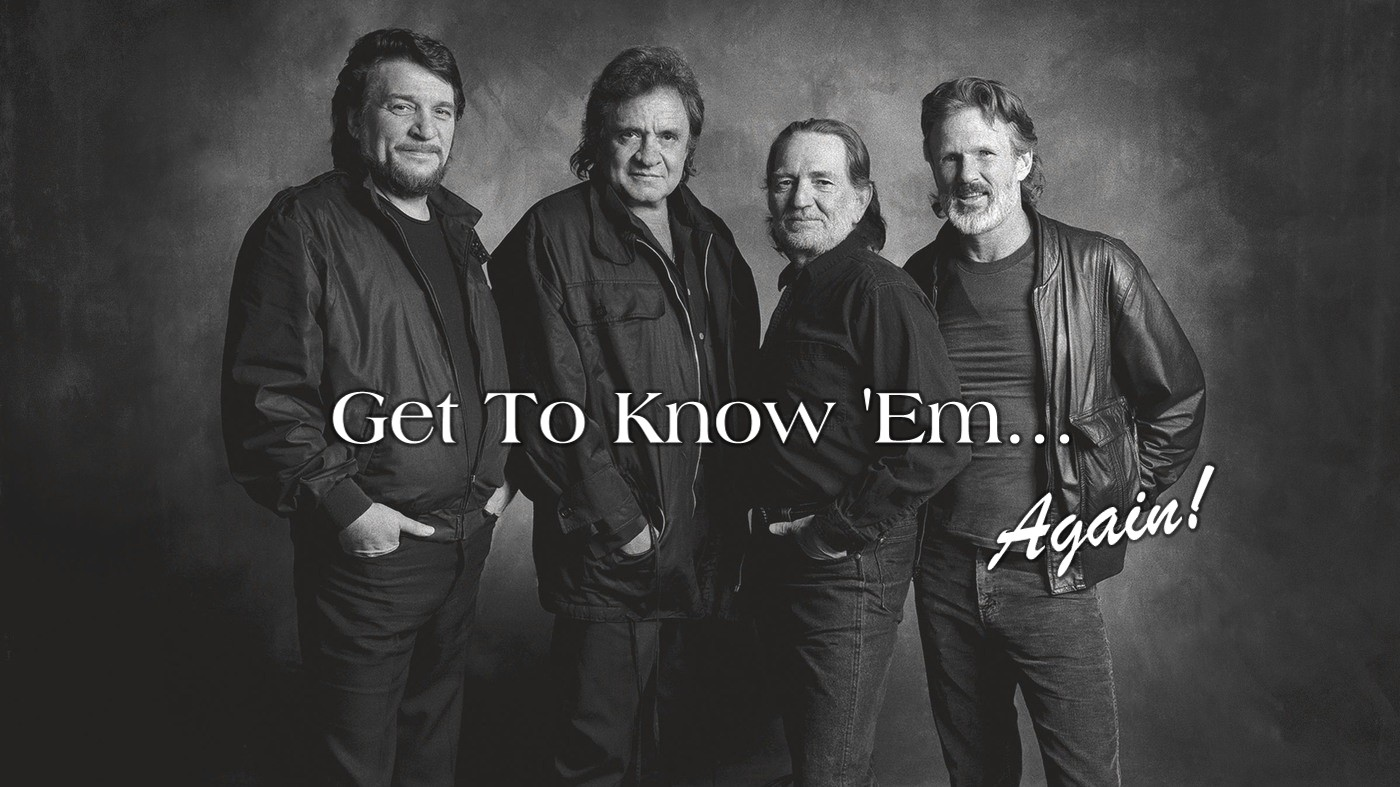 Strictly Country Magazine - The Highwaymen title