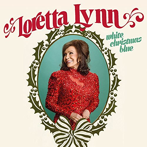 Loretta Lynn White Christmas Blue album
