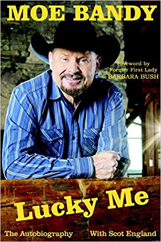 Strictly Country Magazine Moe Bandy Lucky Me Autobiography