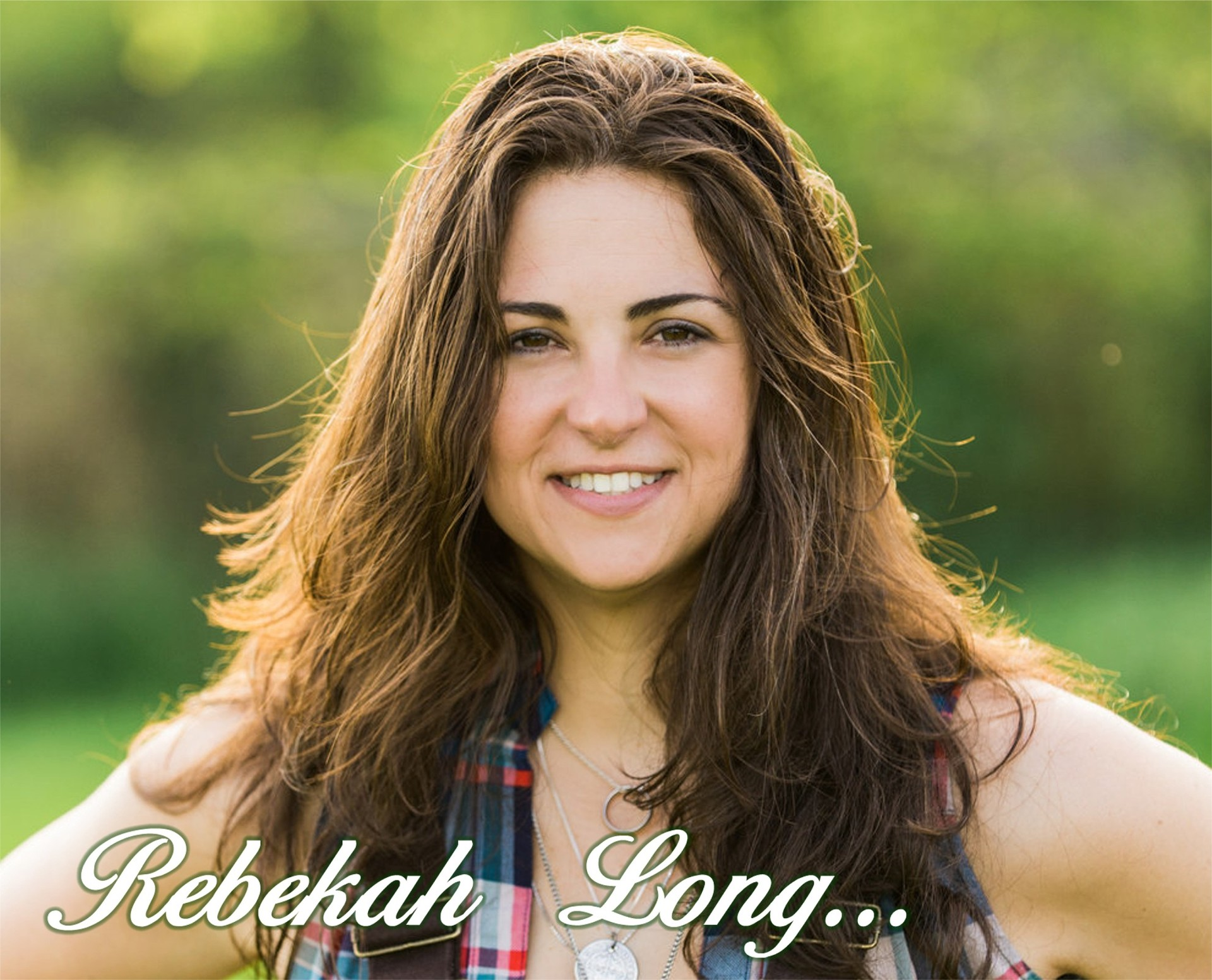Strictly Country Magazine Rebekah Long title