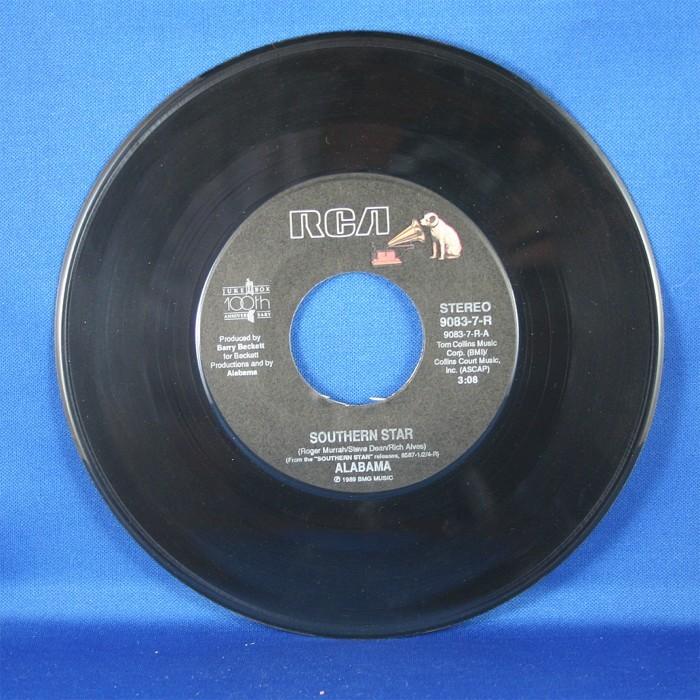"Alabama - 45 LP ""Southern Star"" & ""Barefootin"""