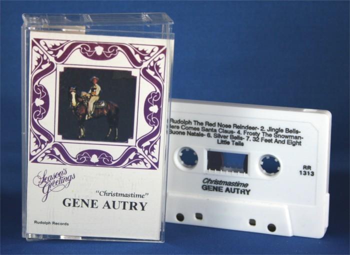 """Gene Autry - cassette """"Christmastime"""""""