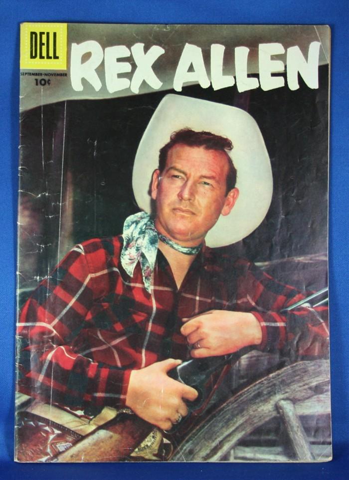 Rex Allen - 1956 Dell Comic book
