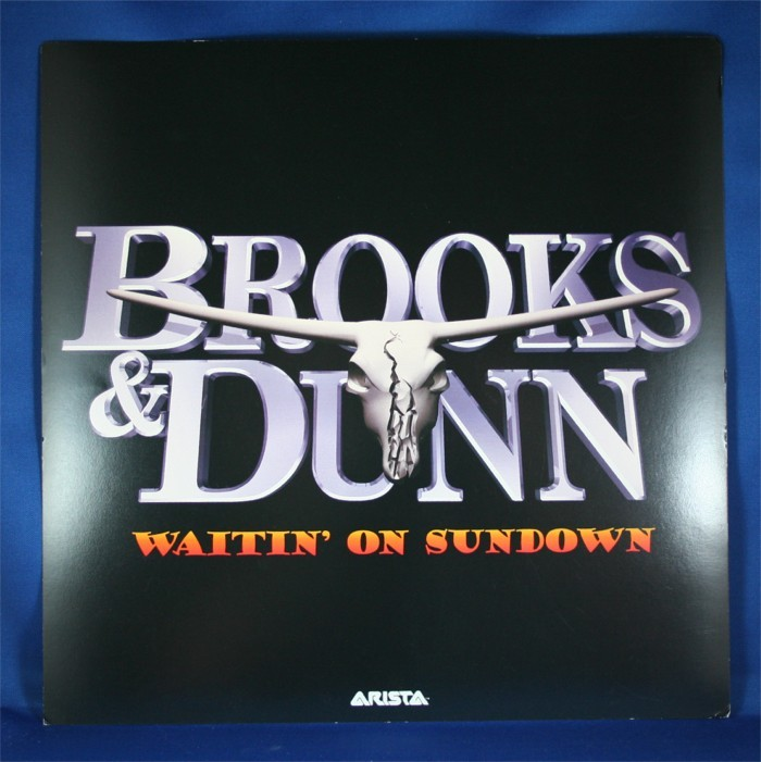 "Brooks & Dunn - promo flat ""Waitin' On Sundown"""
