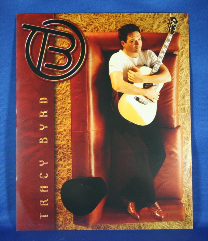 Tracy Byrd - 8x10 color photograph on couch