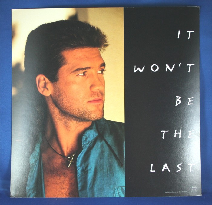 """Billy Ray Cyrus - promo flat """"It Won't Be The Last"""""""