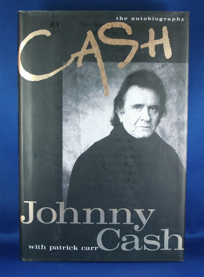 """Johnny Cash - book """"Cash"""" by J. Cash with Patrick Carr"""