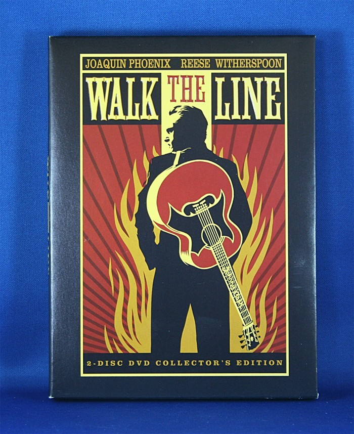 "Johnny Cash - DVD ""Walk The Line"" PV"