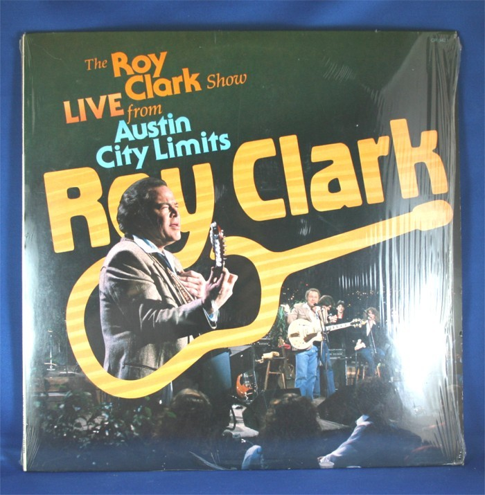 "Roy Clark - LP ""The Roy Clark Show Live From Austin City Limits"""