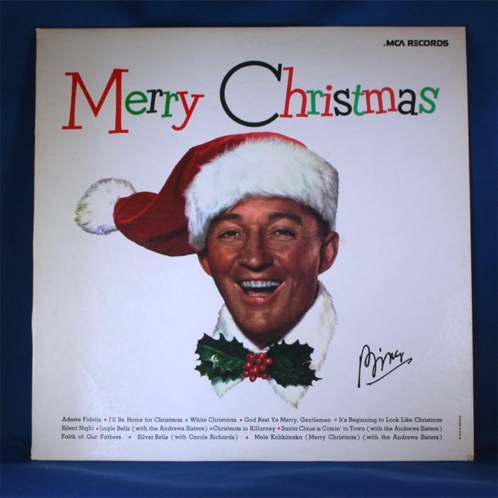 "Bing Crosby - LP ""Merry Christmas"""
