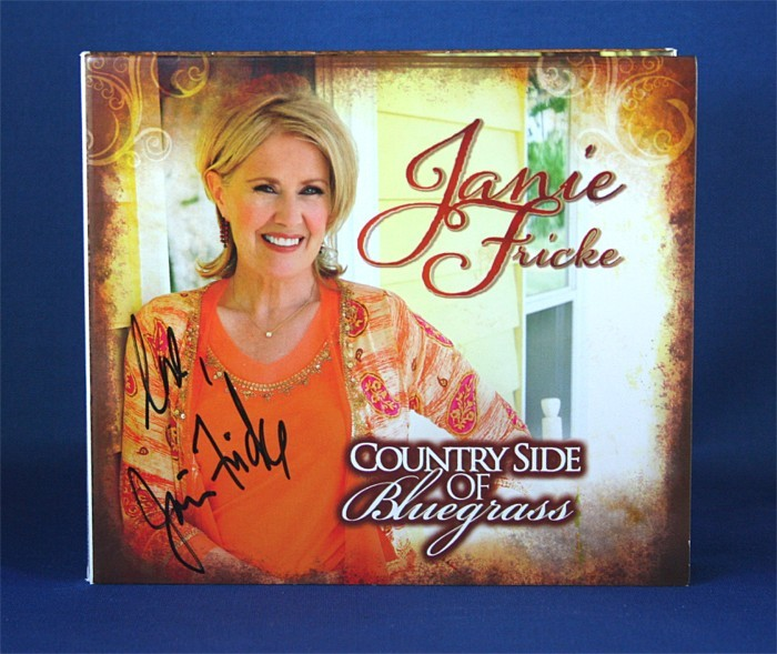 """FFF Charities - Janie Frickie - CD """"Country Side of Bluegrass"""" #1"""
