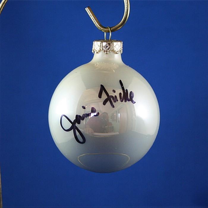 FFF Charities - Janie Frickie - white Christmas ornament #7