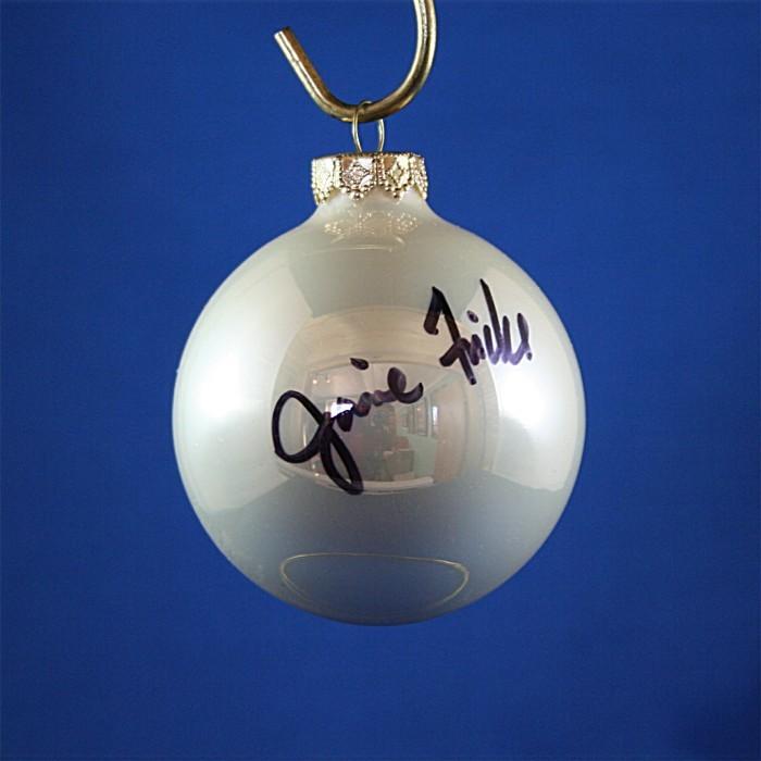 FFF Charities - Janie Frickie - white Christmas ornament #10