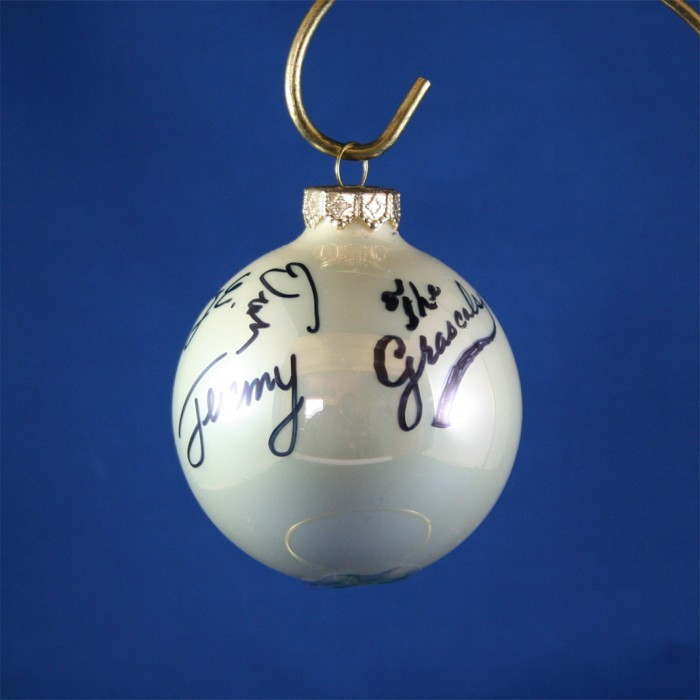 FFF Charities - Grascals - white Christmas ornament #4