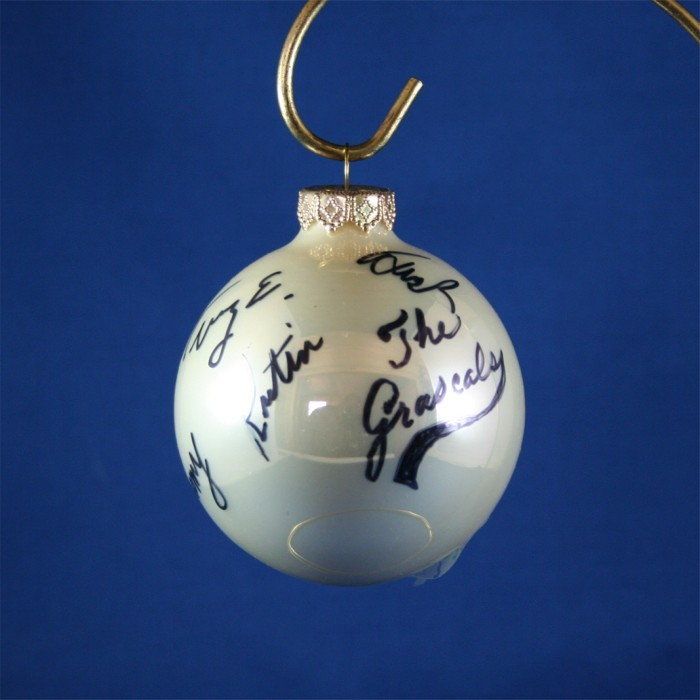 FFF Charities - Grascals - white Christmas ornament #5