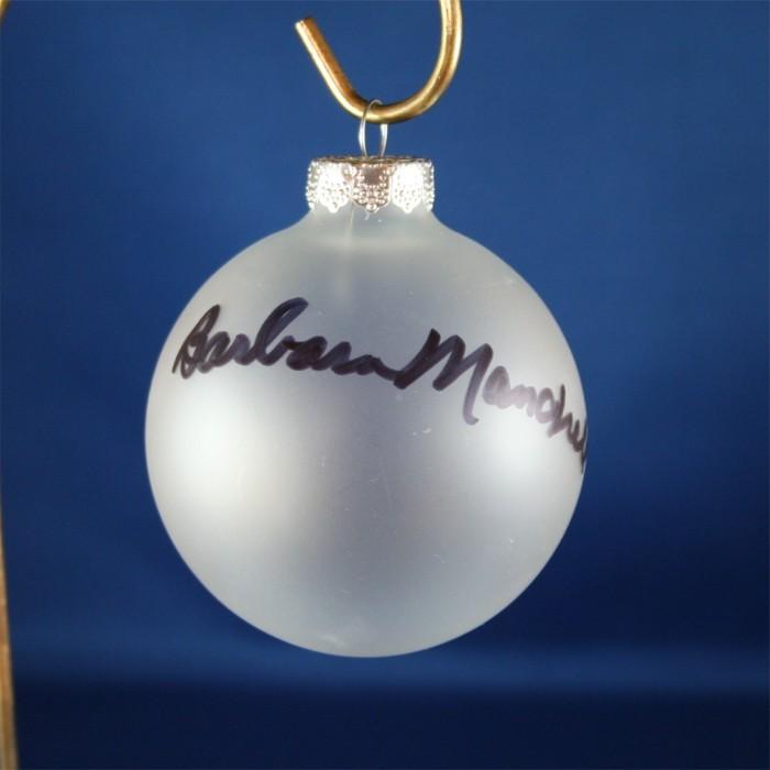 FFF Charities - Barbara Mandrell - Clear Christmas Ornament #5