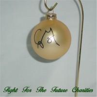 FFF Charities - Craig Morgan - Gold Christmas ornament #1