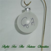 FFF Charities - Craig Morgan - clear Christmas ornament #2