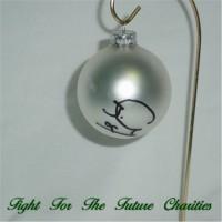 FFF Charities - Craig Morgan - silver Christmas ornament #7
