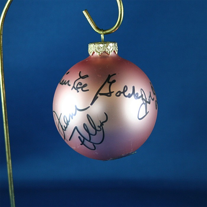 FFF Charities - Oak Ridge Boys - rose Christmas ornament #3