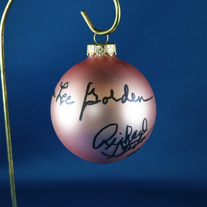 FFF Charities - Oak Ridge Boys - rose Christmas ornament #4