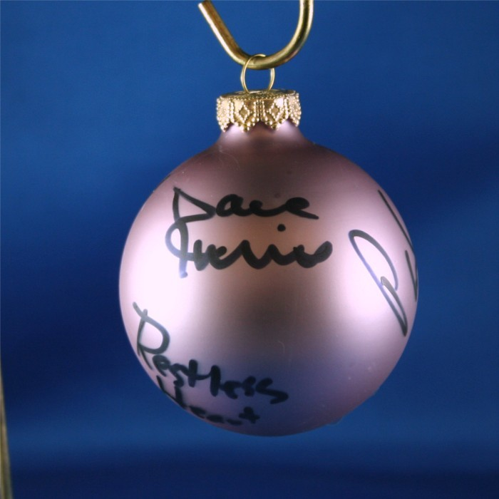 FFF Charities - Restless Heart - Lavendar Christmas ornament #1