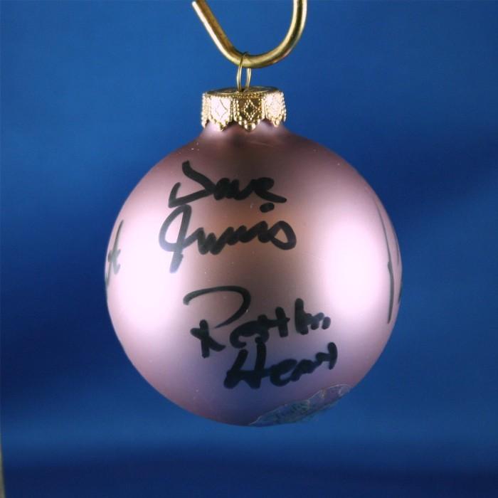 FFF Charities - Restless Heart - Lavendar Christmas ornament #2