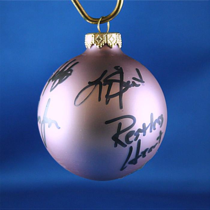 FFF Charities - Restless Heart - Lavendar Christmas ornament #5