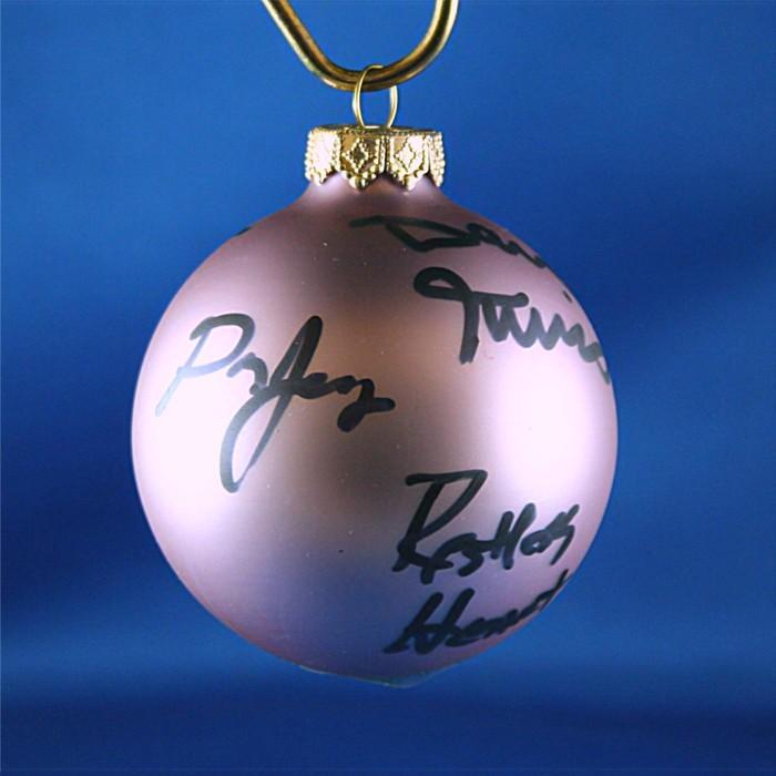 FFF Charities - Restless Heart - Lavendar Christmas ornament #7