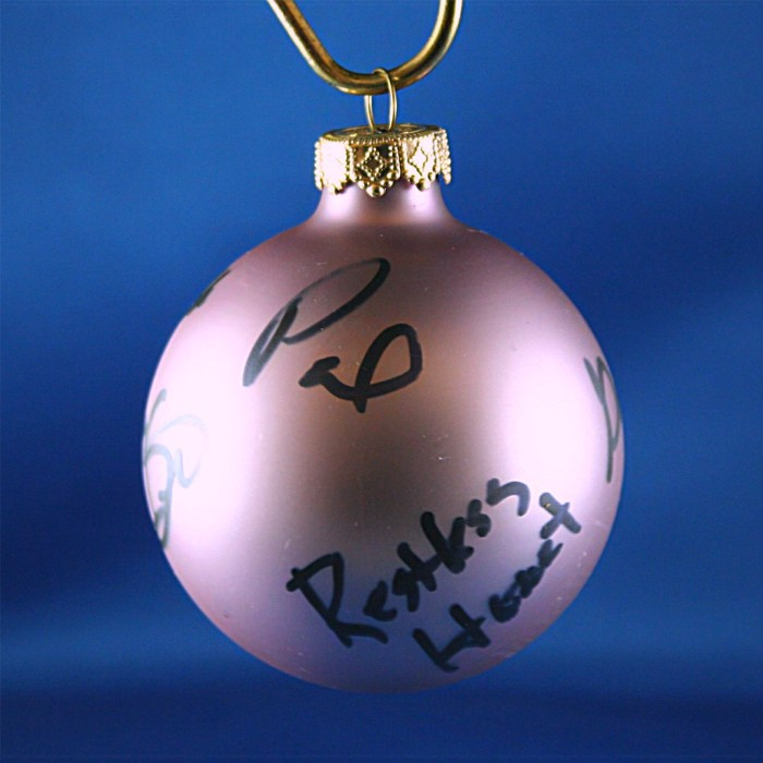 FFF Charities - Restless Heart - Lavendar Christmas ornament #10