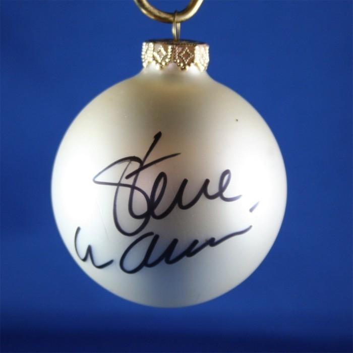 FFF Charities - Steve Wariner - white Christmas ornament #3