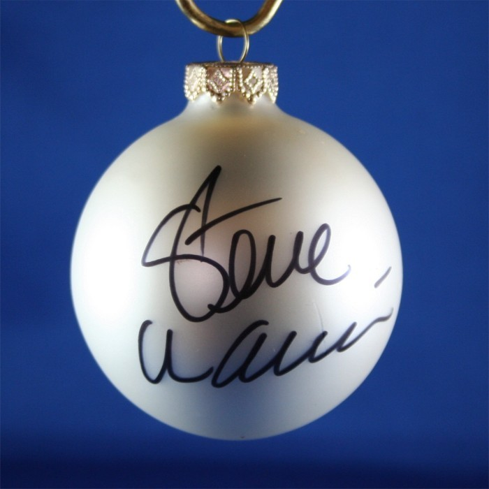 FFF Charities - Steve Wariner - white Christmas ornament #4