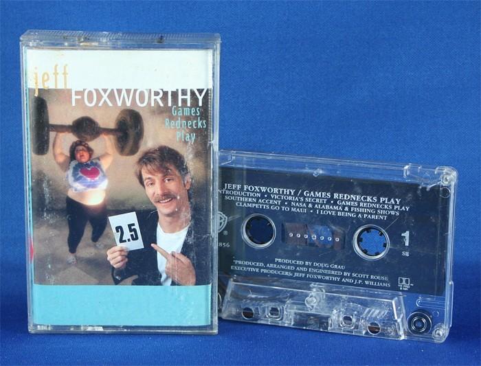 "Jeff Foxworthy - cassette ""Games Rednecks Play"""