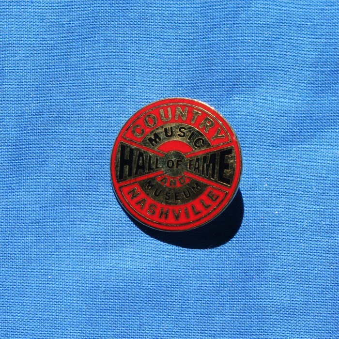 Hall of Fame - lapel pin