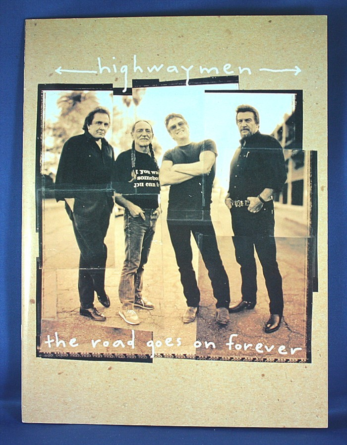 """Highwaymen - book """"The Road Goes On Forever"""" tour"""
