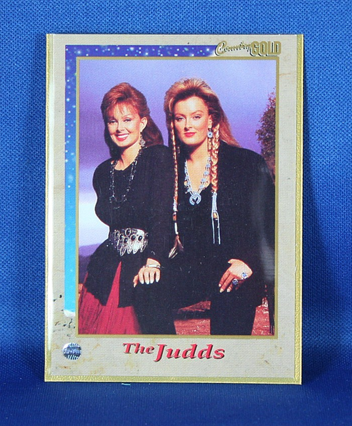 Judds - Rare Country Gold Promo trading card #3