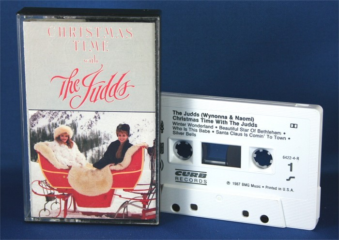 """Judds - cassette """"Christmas Time With The Judds"""""""
