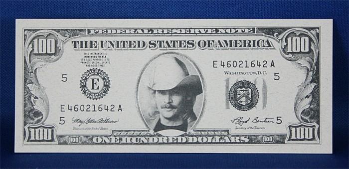 Alan Jackson - $100 bill