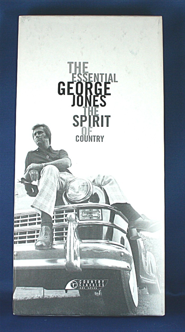 "George Jones - box set ""The Essential George Jones The Spirit of Country"""