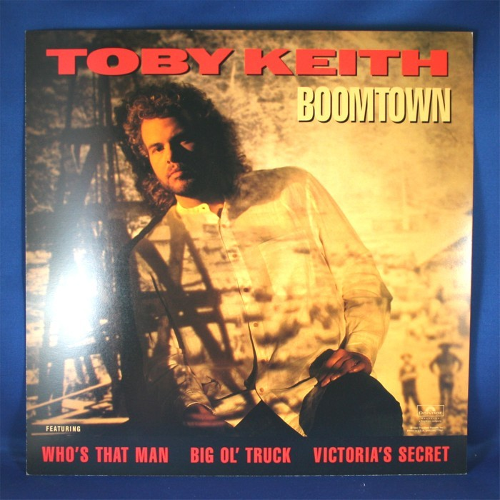 "Toby Keith - promo flat ""Boomtown"""