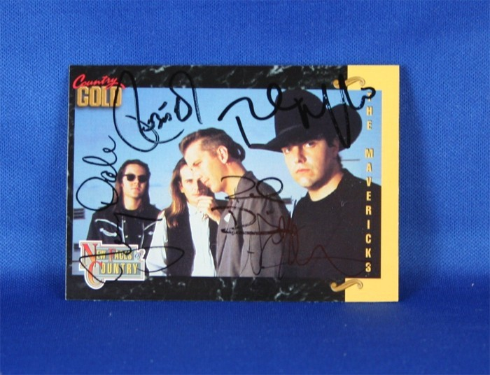 Mavericks - autographed 1993 Country Gold trading card #2