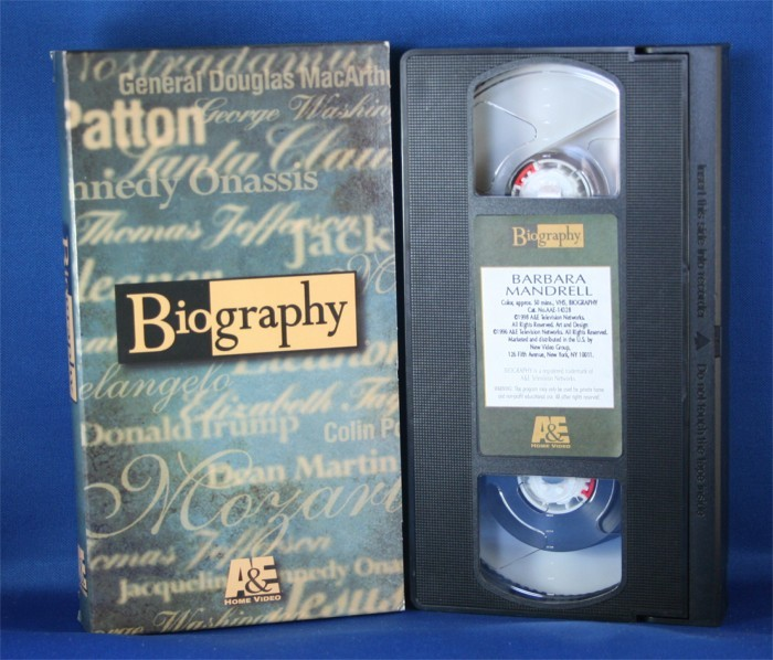 "Barbara Mandrell - VHS ""Biography"""