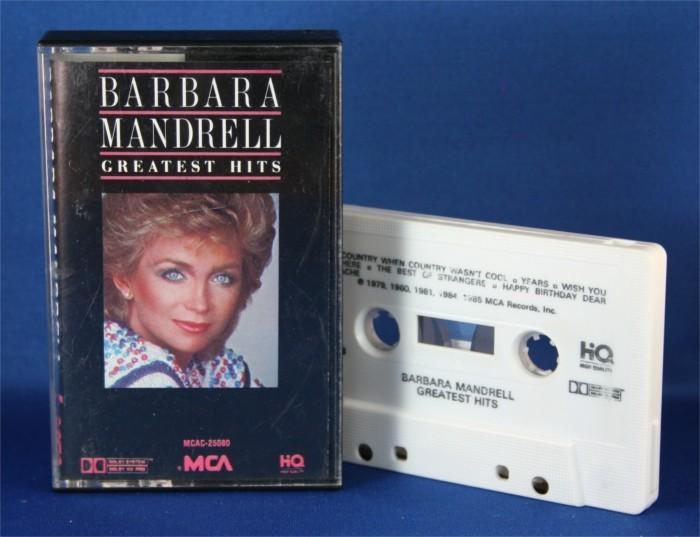 """Barbara Mandrell - cassette """"Greatest Hits"""""""