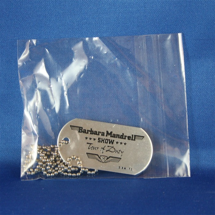 "Barbara Mandrell - dog tags ""Tour of Duty"""
