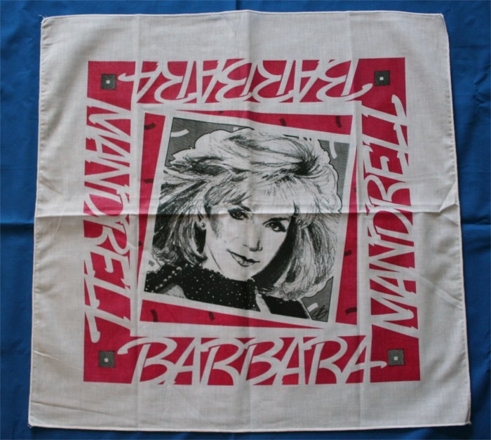 Barbara Mandrell - tour scarf with image