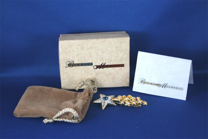 Barbara Mandrell - Country Sentiments Jewelry shooting star