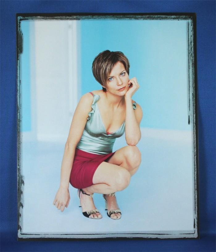Martina McBride - 8x10 color photograph w/ silver tank top