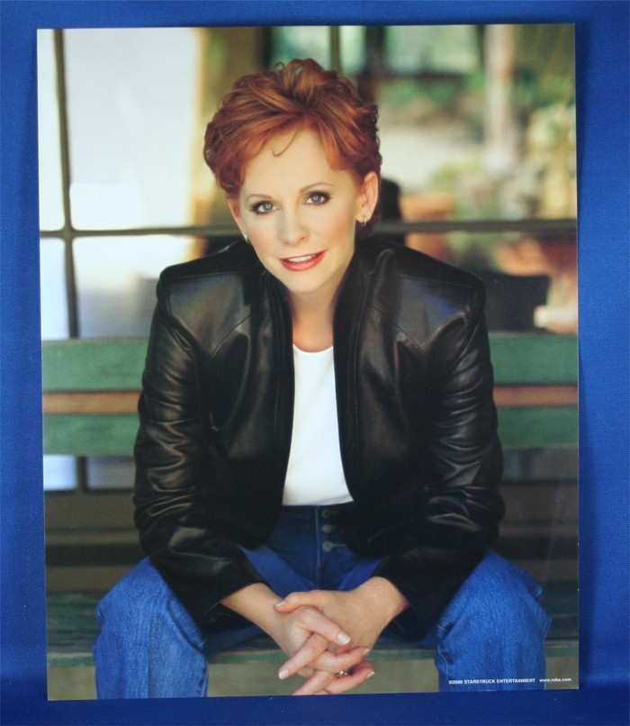 """Reba McEntire - 8x10 color photograph """"So Good Together"""""""