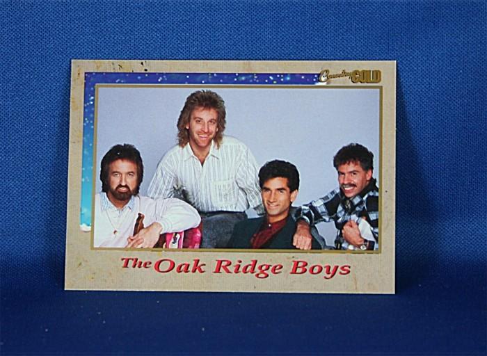 Oak Ridge Boys - Country Gold promo trading card #2